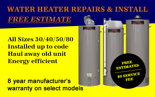 water heaters las vegas