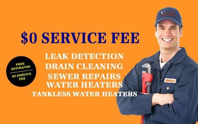 free estimate plumber